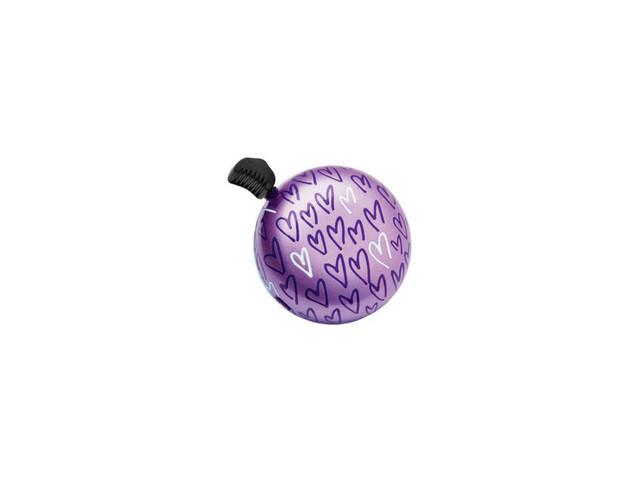 Electra Xoxo fietsbel violet